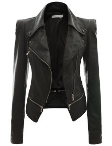 Black-Leather-Jackets-for-Women-2014-Pics