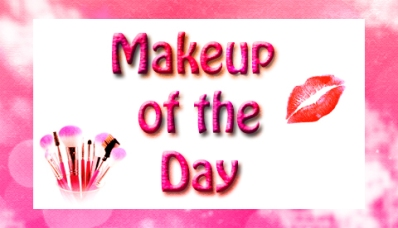 Makeup of the day sign